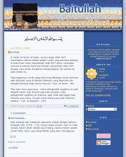template blog islami