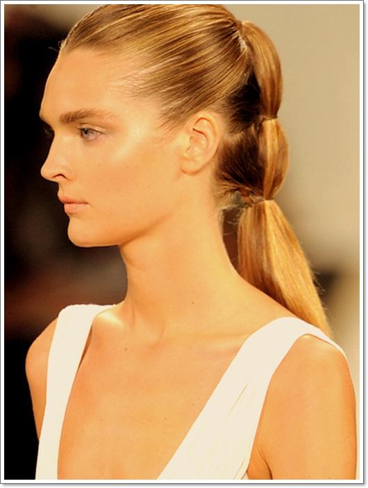 Pferdeschwanz Frisuren für den Sommer 2015
