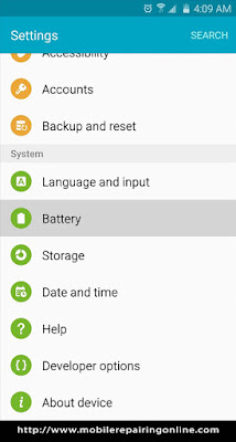 Android Battery Power