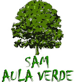 """Logotipo """"Aula Verde SAM"""""""
