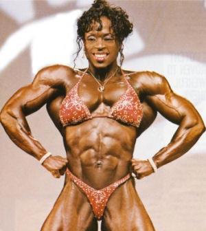 kvinnor med muskler