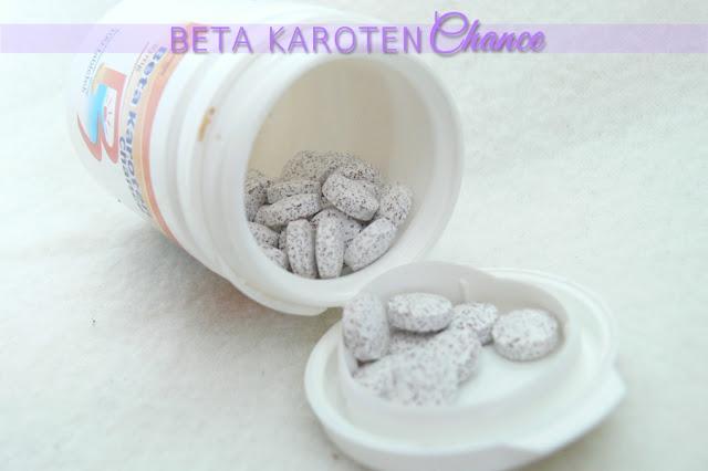 Chance, Beta Karoten tabletki