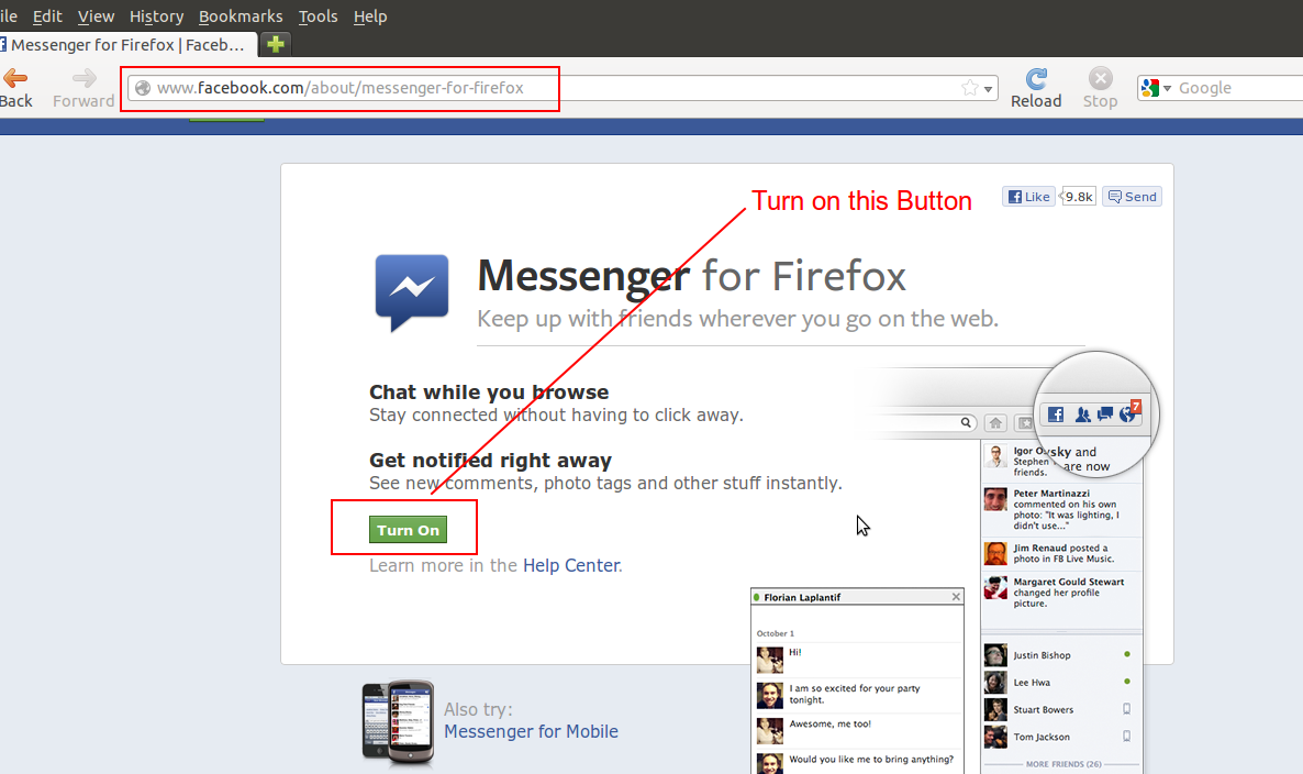 How To Enable Facebook Messenger