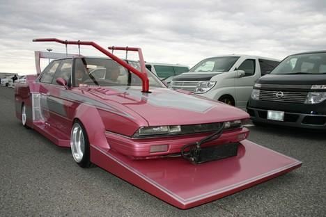 japanese custom cars: Extreme Japanese Bosozoku Car Style