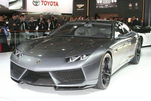 Sports cars lamborghini 2013