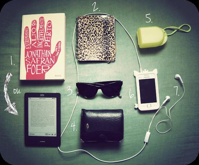 As coisas preferidas - O que carregamos na bolsa