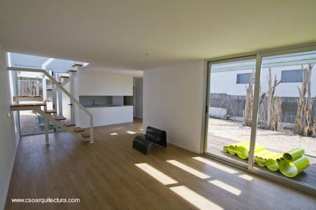 Casa moderna por dentro
