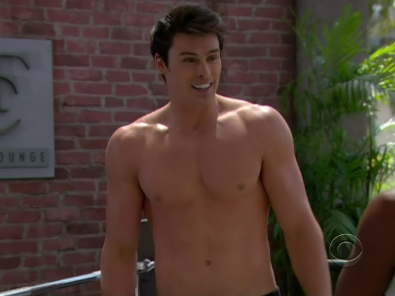 Adam Gregory Shirtless on Bold and the Beautiful 20110701