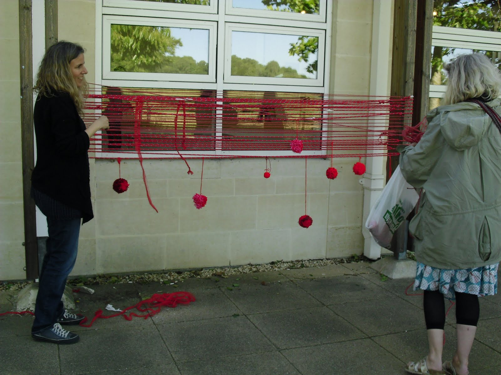 Creative Thinkers: Day 352: My Guerilla Knitting Experience