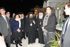 Ο Αρχιεπίσκοπος Αθηνών και πάσης Ελλάδος και Μητροπολίτης Πατρών