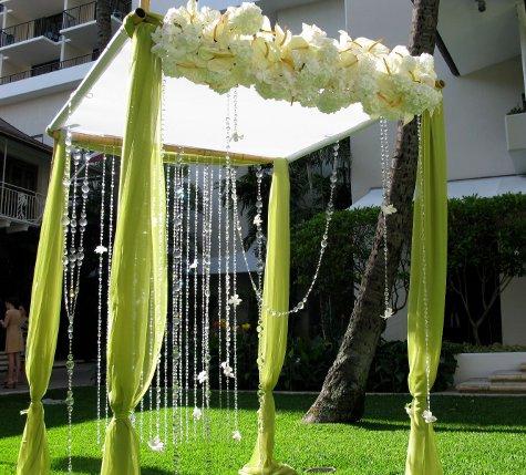 Wedding flower wedding candles wedding decorating for Arbor decoration ideas