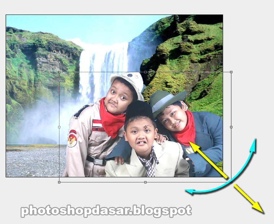 cara mengganti background foto di photoshop cara ngedit photo dengan