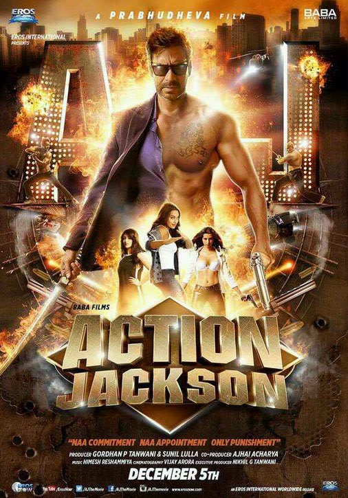 Action Jackson Bollywood movie