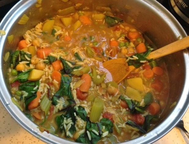 Vegan in Bellingham: Easy Use-it-Up Vegetable Curry