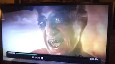 Demônio invade transmissão de TV nos EUA?