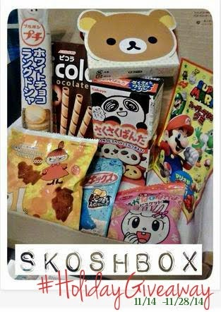 Skoshbox Japanese Snacks Giveaway!