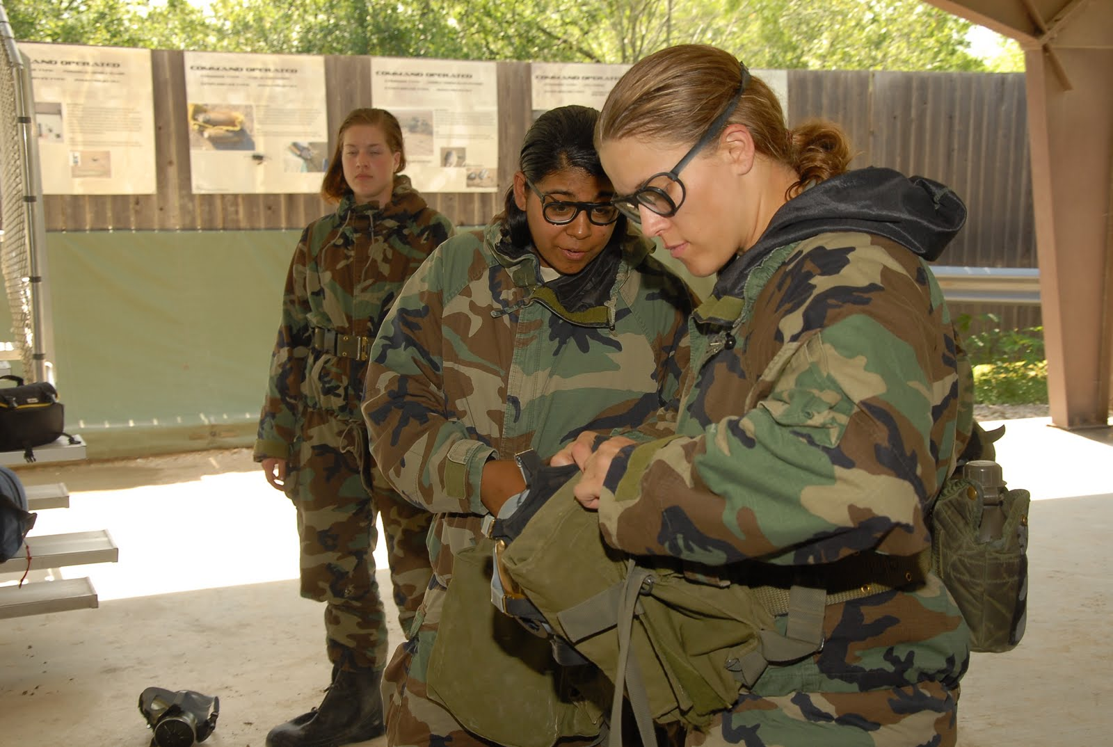 Learning chemical warfare procedures