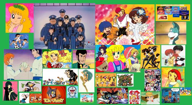 Anni cartoni animati e anime