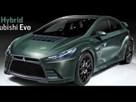 Mitsubishi Evo XI Hybrid in production by 2014 | Electric Vehicle News