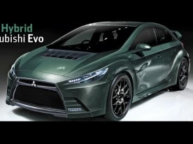 mitsubishi evo xi hybrid in production by 2014 electric vehicle news - Mitsubishi Evolution 11
