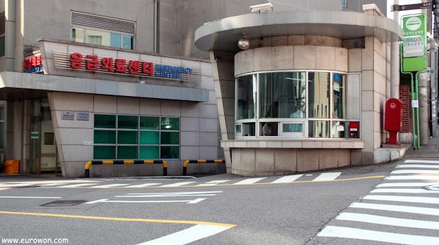 Lugar donde estaba originalmente la puerta Seodaemun