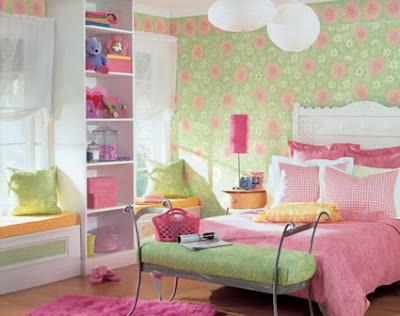 plus- Teenage Girls Pink Bedrooms Design Ideas - Teenage Craze - A Place