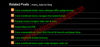 Cara Membuat Related Post Fast Loading