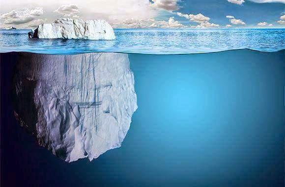 ..sisi dilihat..terlindung sisi lain...yang tersembunyi...