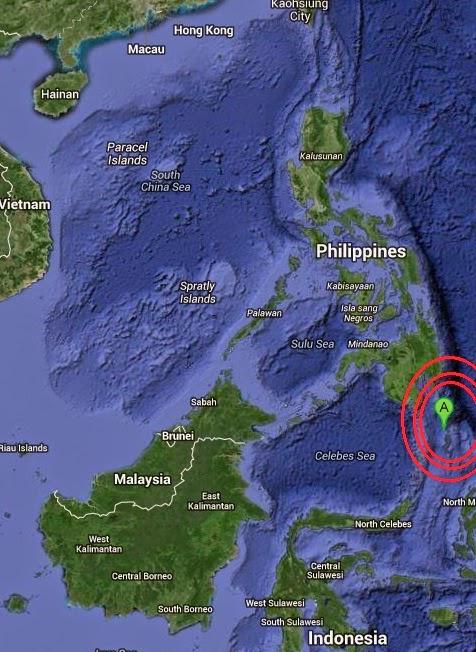 Magnitude 5.1 Earthquake of Sarangani, Philippines 2014-09-19
