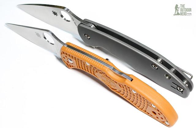Spyderco Mantra EDC Pocket Knife - With HAP40 Delica