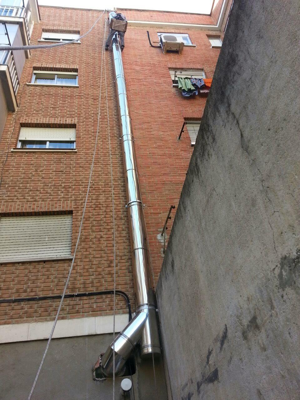 Venta de tubos de chimeneas tubos helicoidales tubos - Tubos de acero inoxidable para chimeneas ...