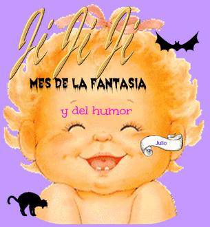Julio, mes novela fantástica y humor