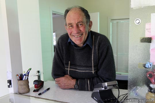 Ray Aires, motelier, Three Oaks Motel, Wairoa - Word on the street in Wairoa District. Interviews by Amy Shanks. photograph