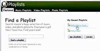 How to search maxpod playlist