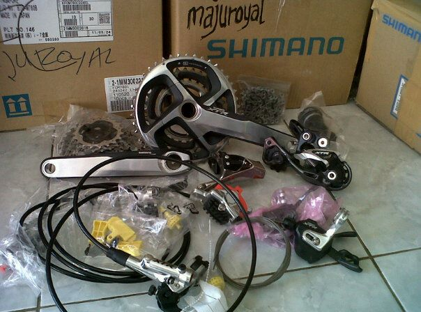 groupset xtr majuroyal