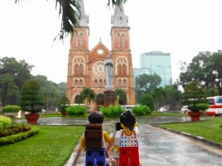 Đồ chơi Lego du lịch Việt Nam