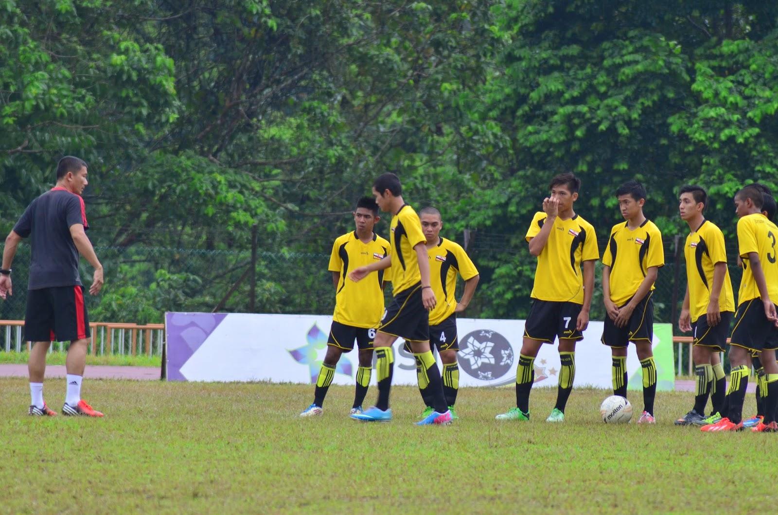 Latihan Cuti Persekolahan Penggal Pertama Bagi Pasukan Bola Sepak