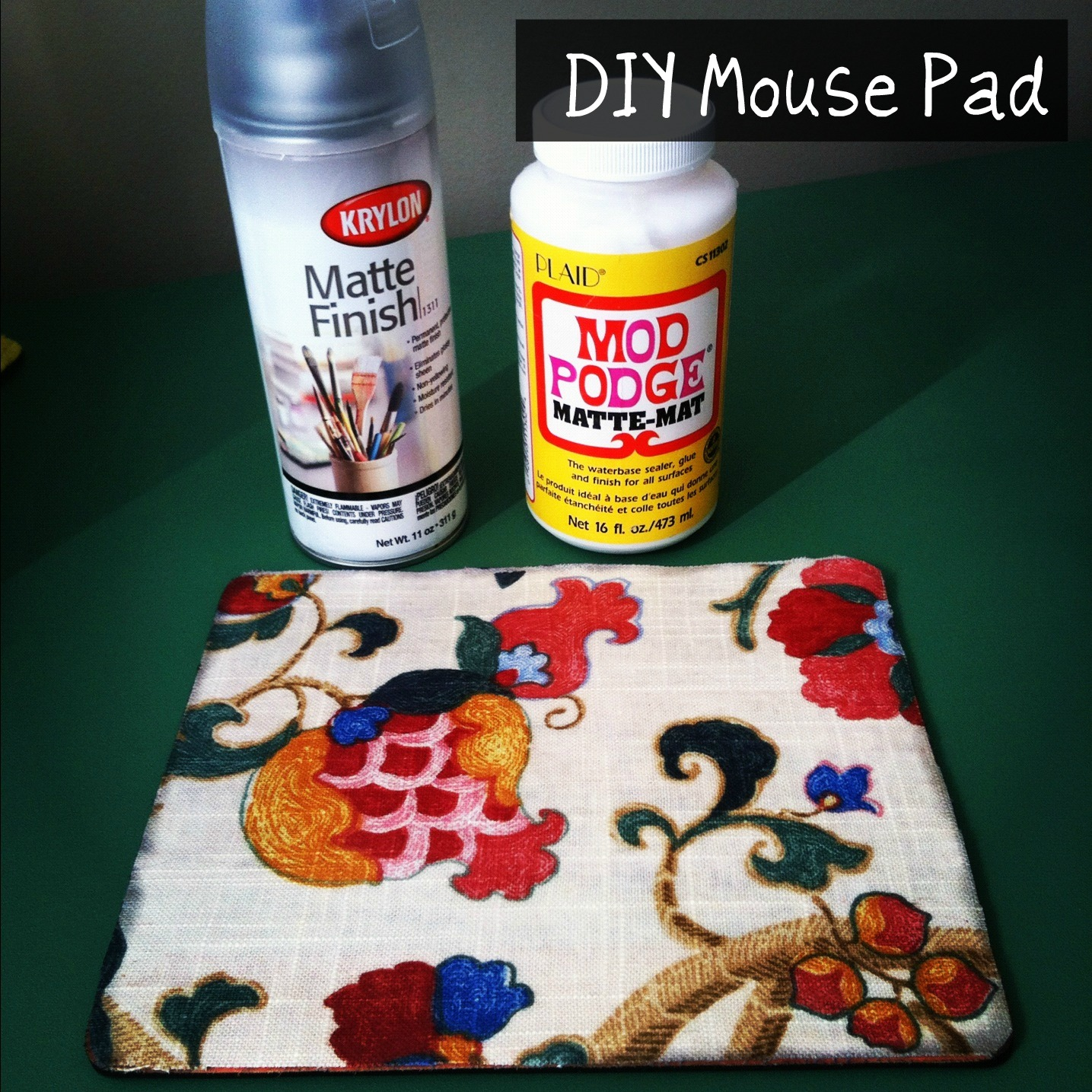 Diy Mouse Pad Diy Mouse Pad Tutorial