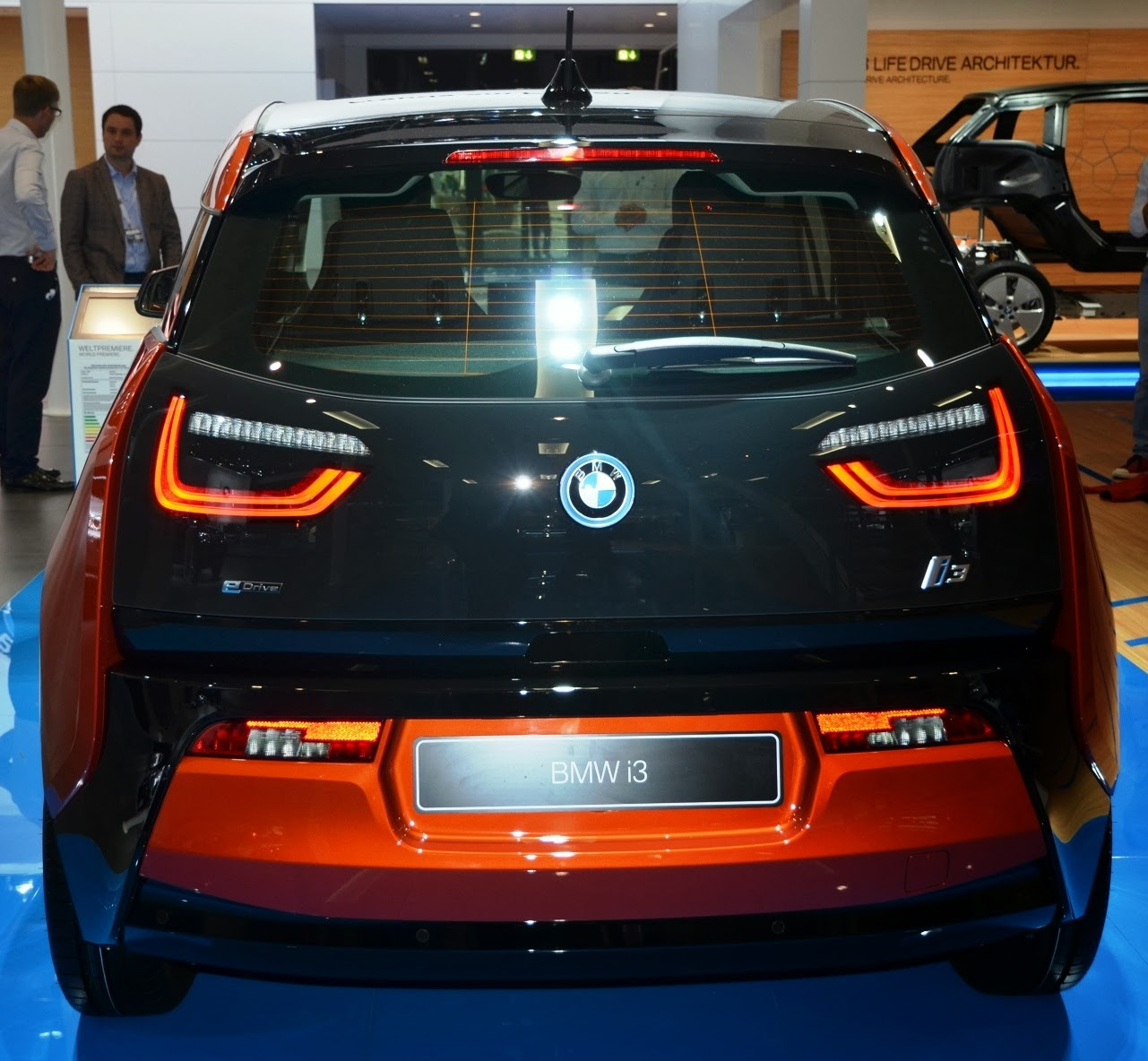 Bmw I3: The Electric BMW I3: BMW I3: I See Your True Colors