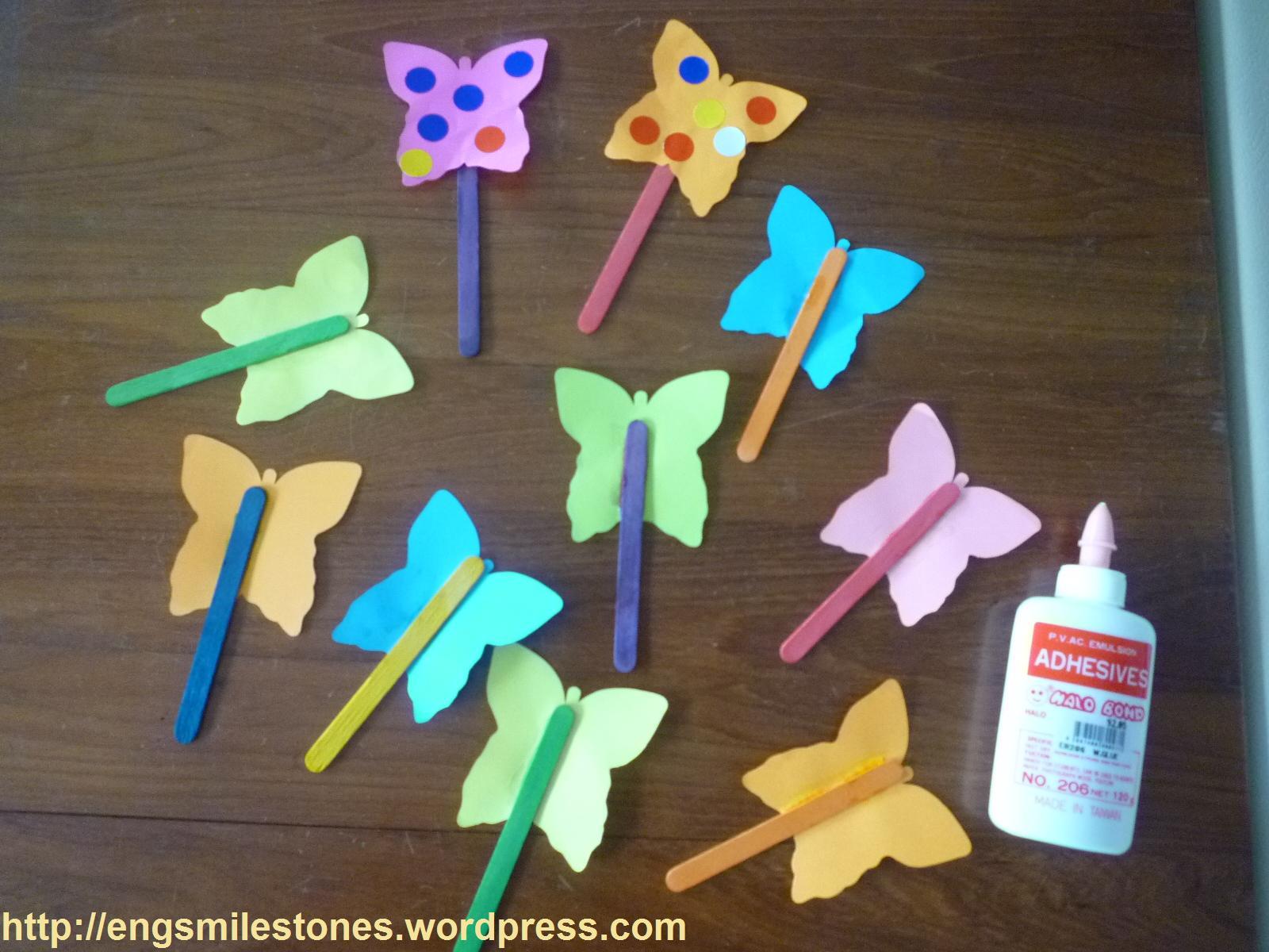 Scribbles Ice Cream Stick Art