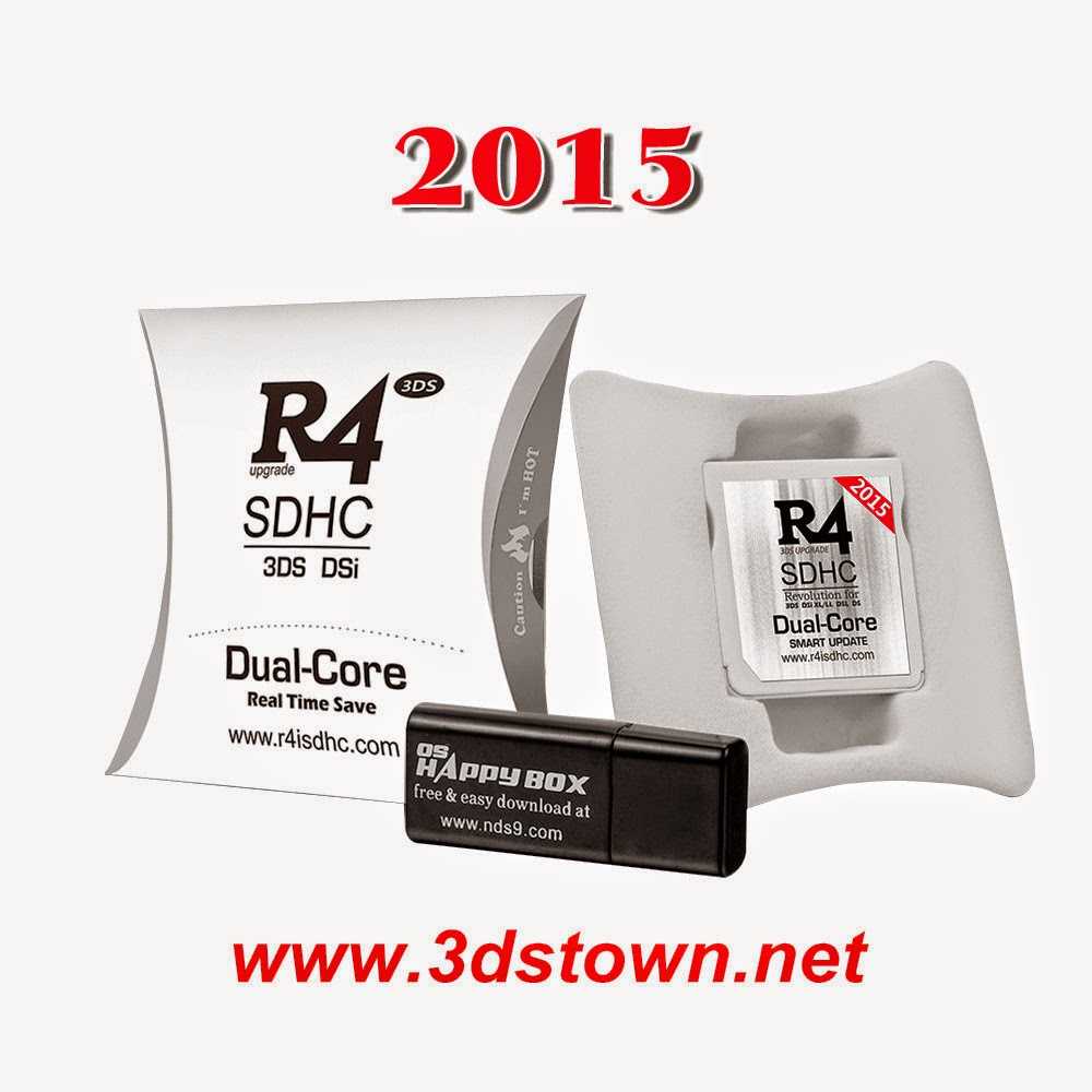 2015 R4i SDHC Dual Core the white