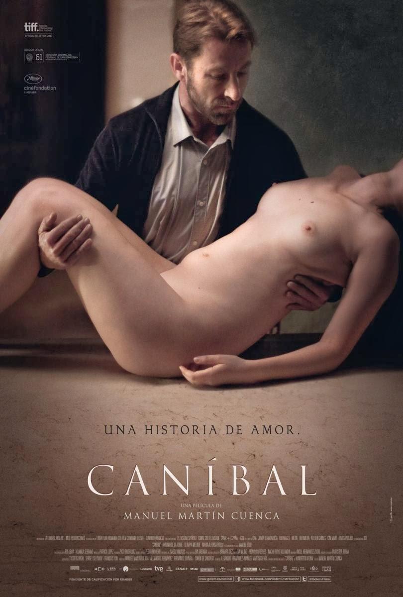 cartel, póster, carátula, canibal