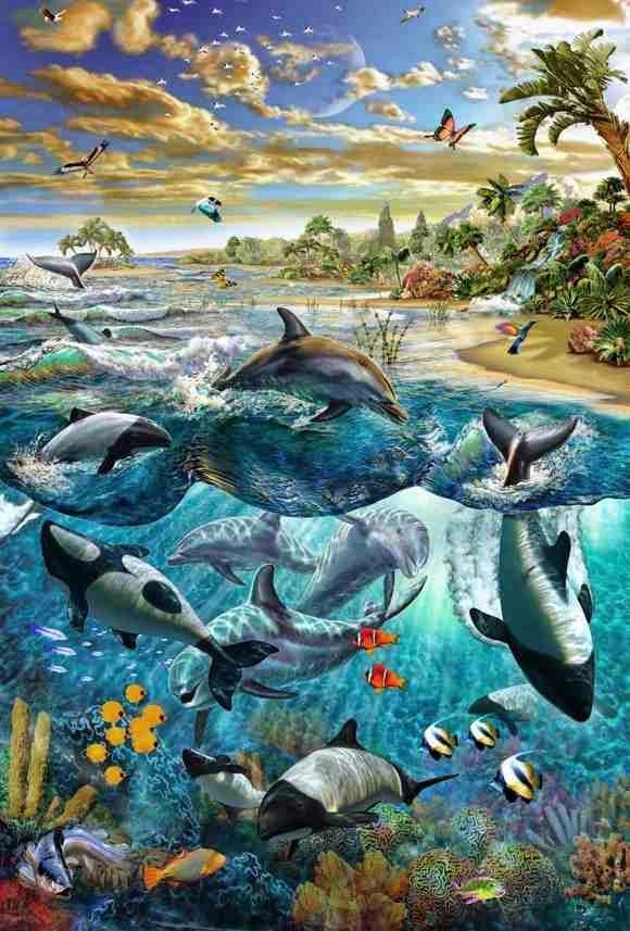 Underwater Adrian Chesterman Artwork