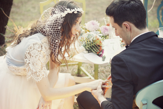 editorial vintage novios boda bosque shooting forest wedding