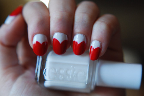 valentine's day,valentine's day nails,heart nails,nail art,nail diy