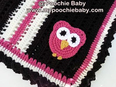owl blanket crochet pattern