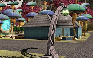 Summer 39 s little sims 3 garden lunar lakes list of houses for Garden pavilion crossword clue