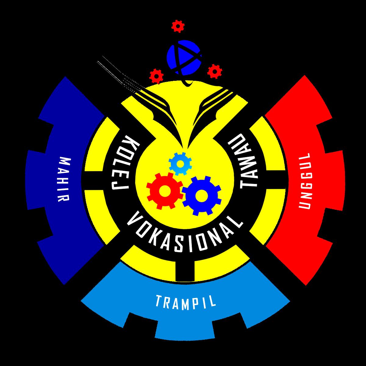 logo moto dan slogan kolej vokasional tawau