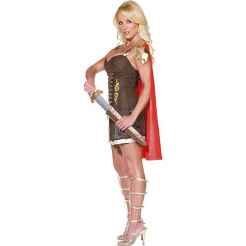 disfraz casero de romana