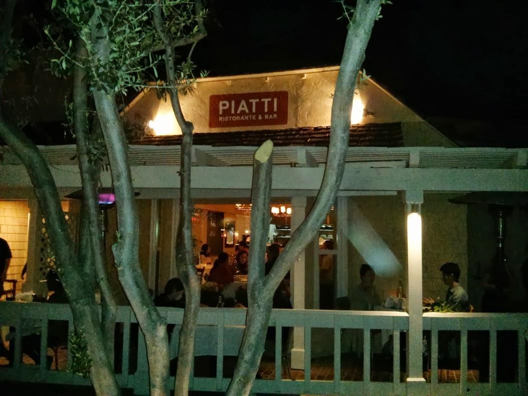 Academic capital fine la jolla italian dining at piatti 39 s for Piatti ristorante